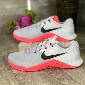 Nike Metcon 3 Wolf Grey-Racer Pink